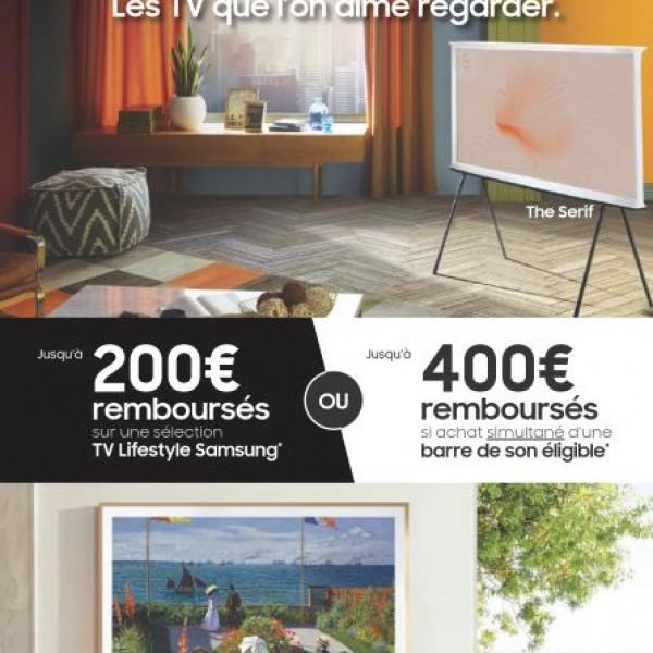 SAMSUNG VOUS REMBOURSE JUSQU'A 400€