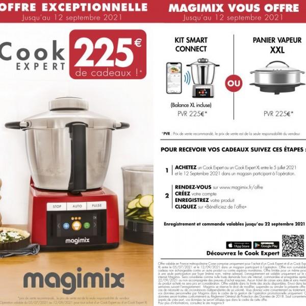 MAGIMIX VOUS OFFRE 250€ DE CADEAUX