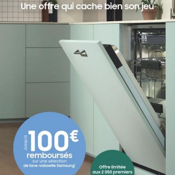 SAMSUNG VOUS REMBOURSE JUSQU'A 100€