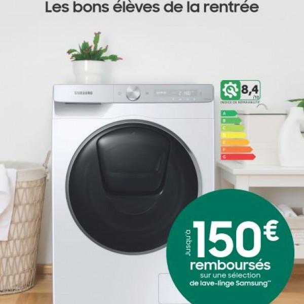 SAMSUNG VOUS REMBOURSE JUSQU'A 150€