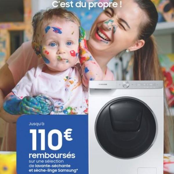 SAMSUNG VOUS REMBOURSE JUSQU'A 110€