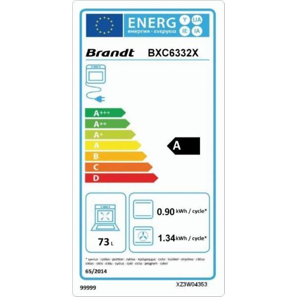 BRANDT BXC6332X