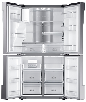 Samsung four nv75k5541bs cuisinov - Refrigerateur encastrable grande capacite ...