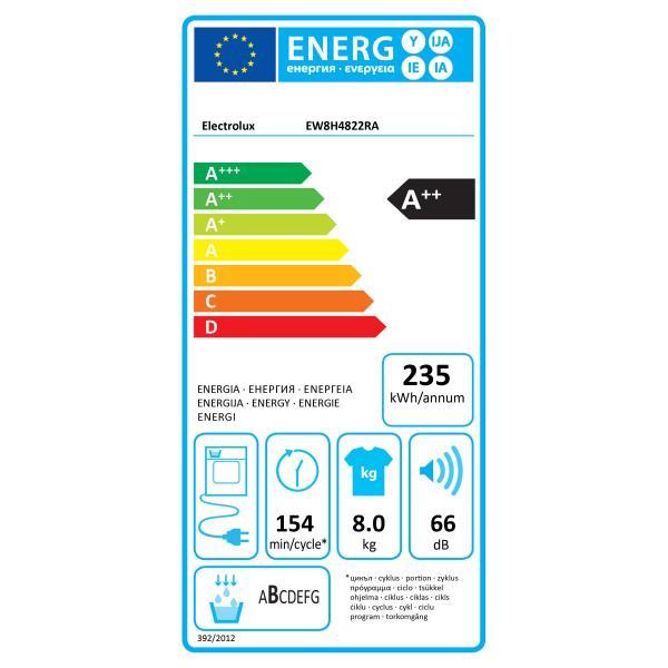 ELECTROLUX EW8H4822RA